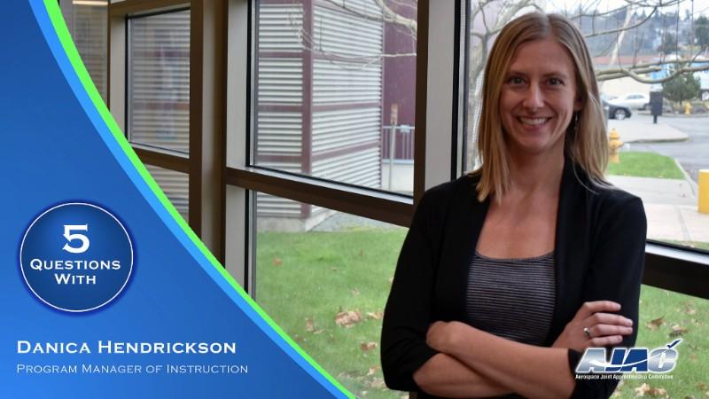 Danica Hendrickson, AJAC's new Program Manager of Instruction.