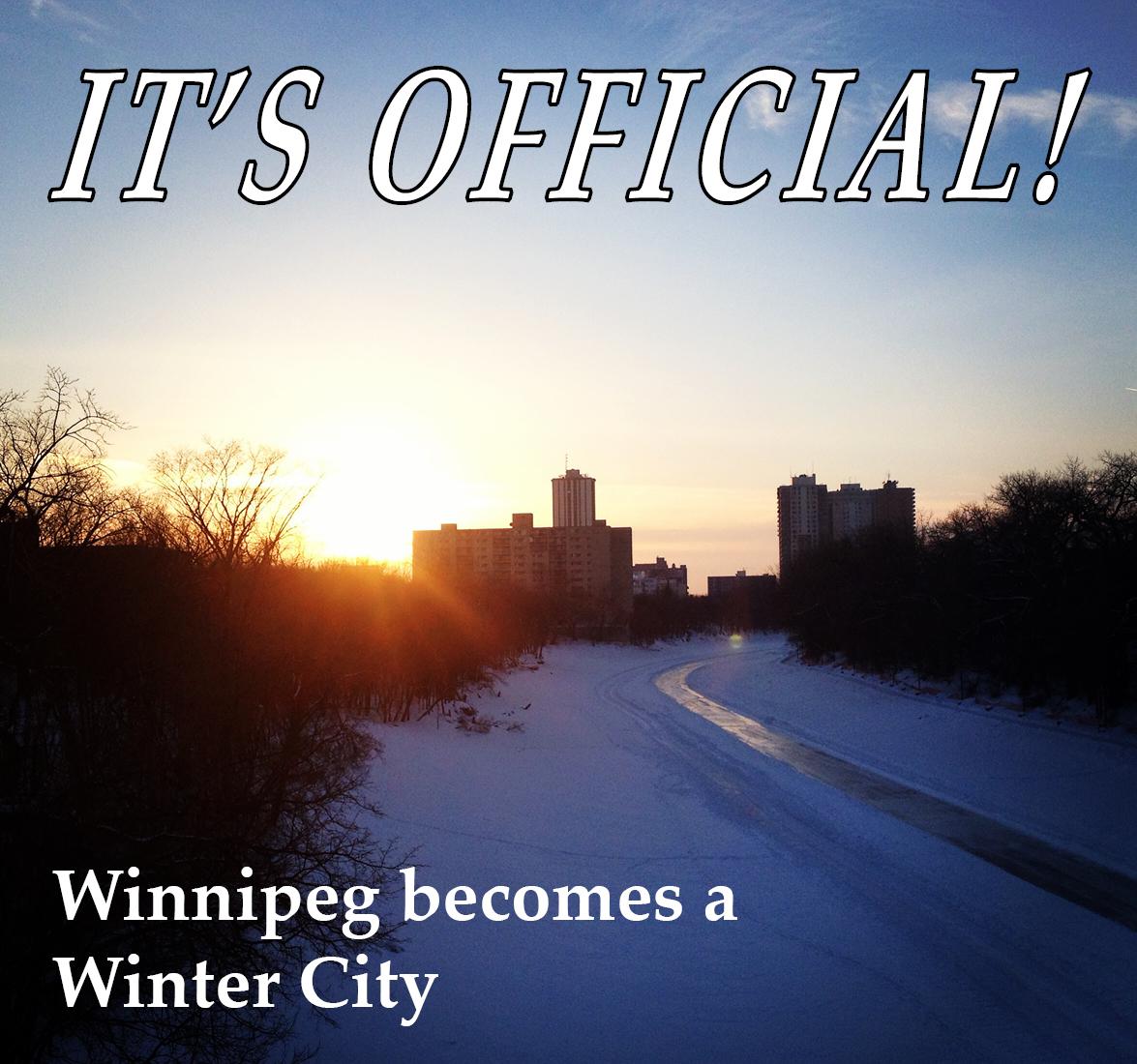 Winnipeg is a Winter City