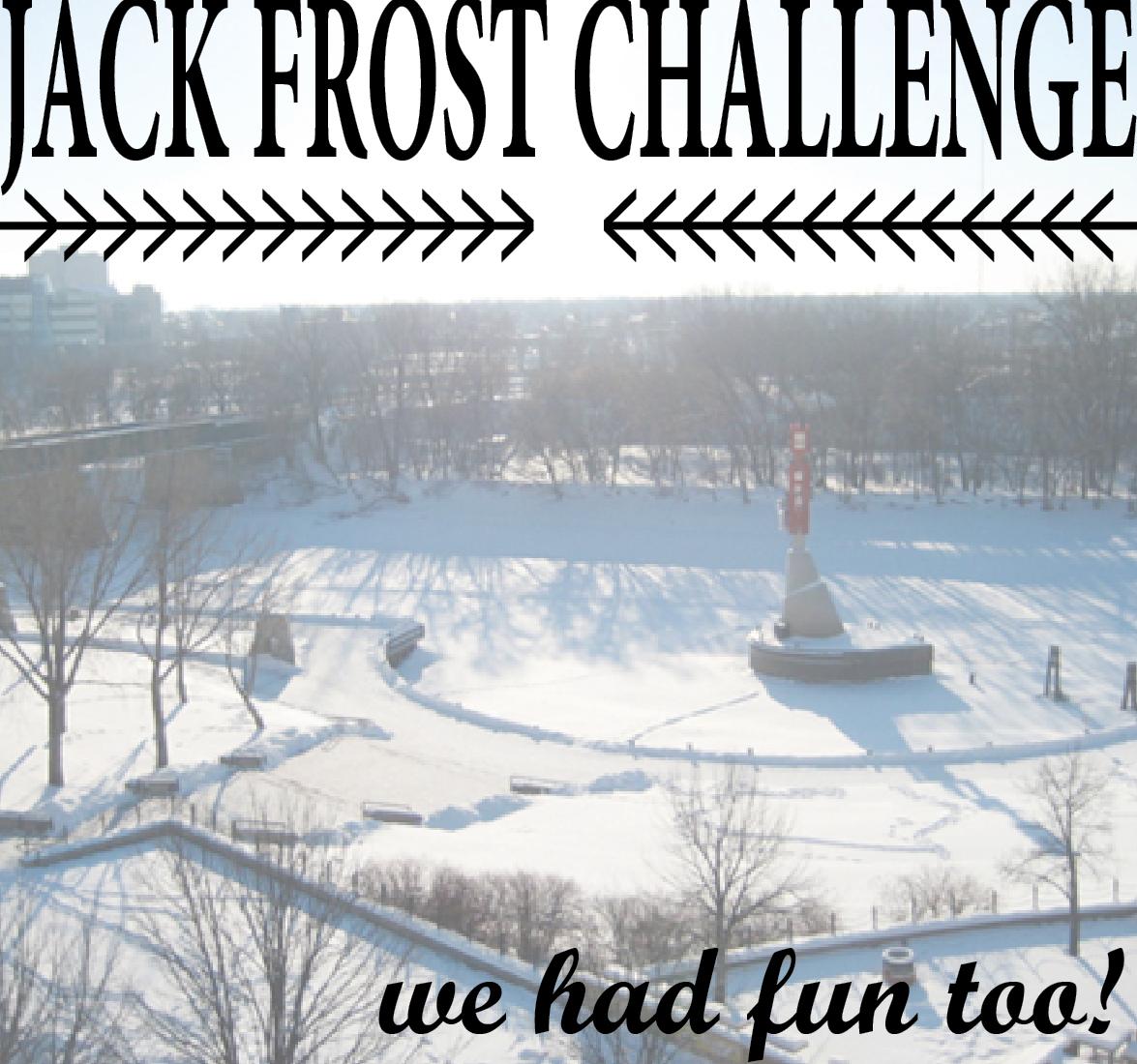 Jack Frost Challenge: staff testimonials