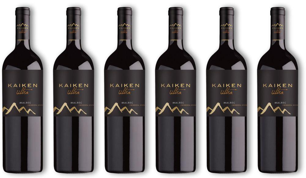 Kaiken; Ultra; Wein; Flaschen schwarz
