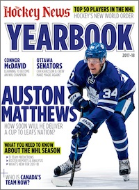 Hockey News cover