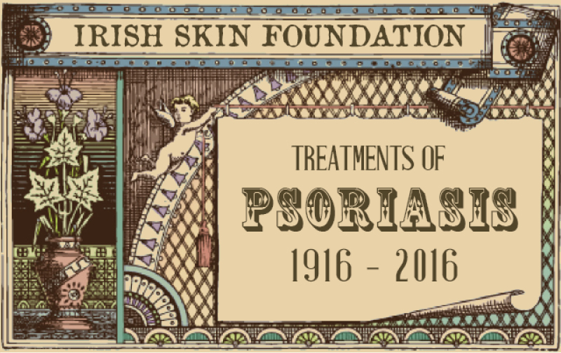 100 years of Psoriasis Treatments Graphic