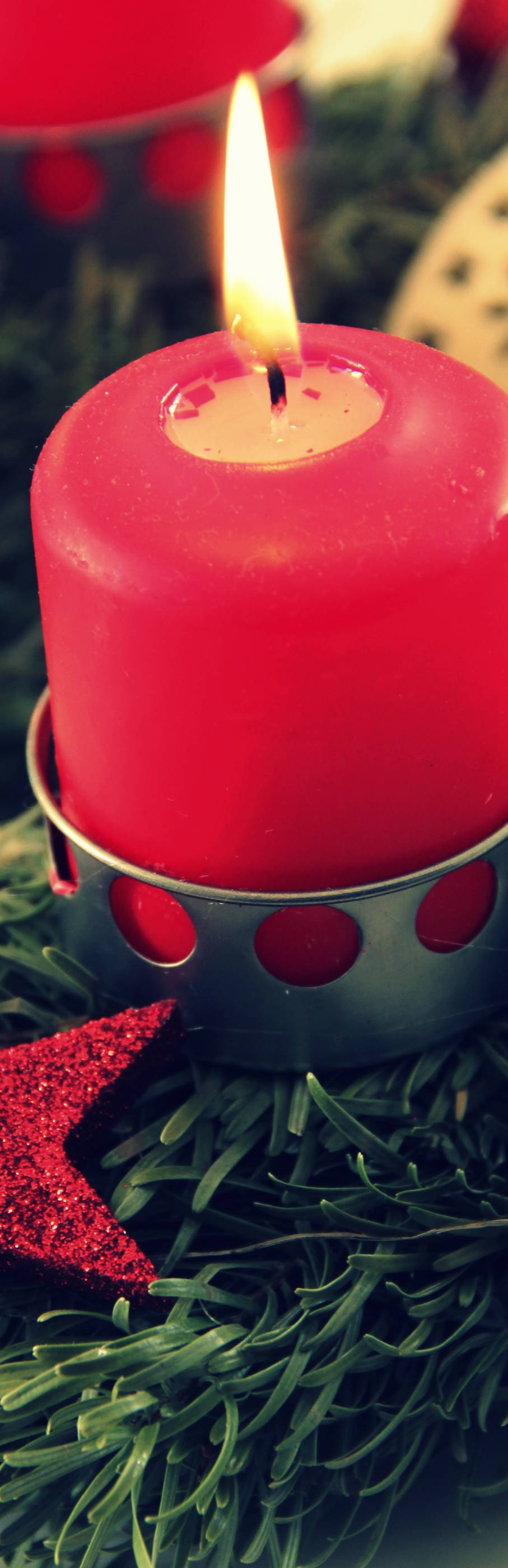 Irish Skin Foundation Xmas Newsletter Candle Image