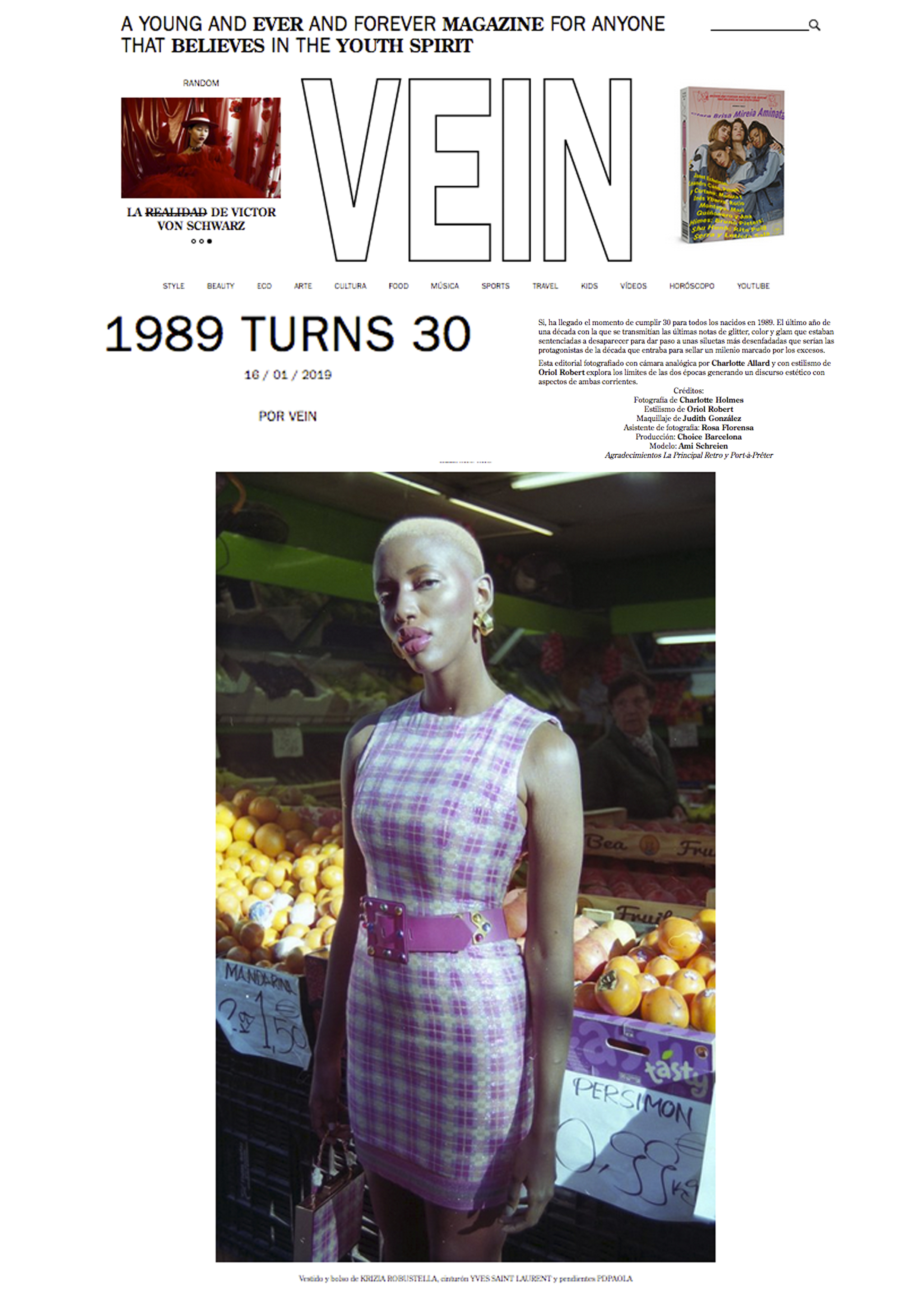 Vein Magazine - carlalopez
