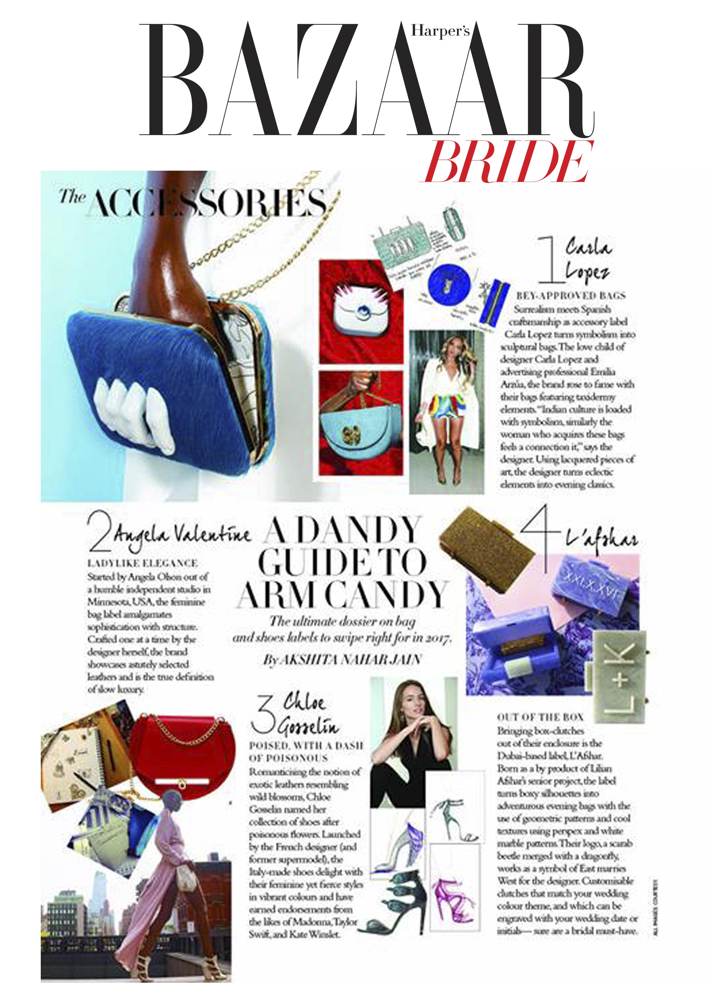 Harpers Bazaar Bride India - carlalopez