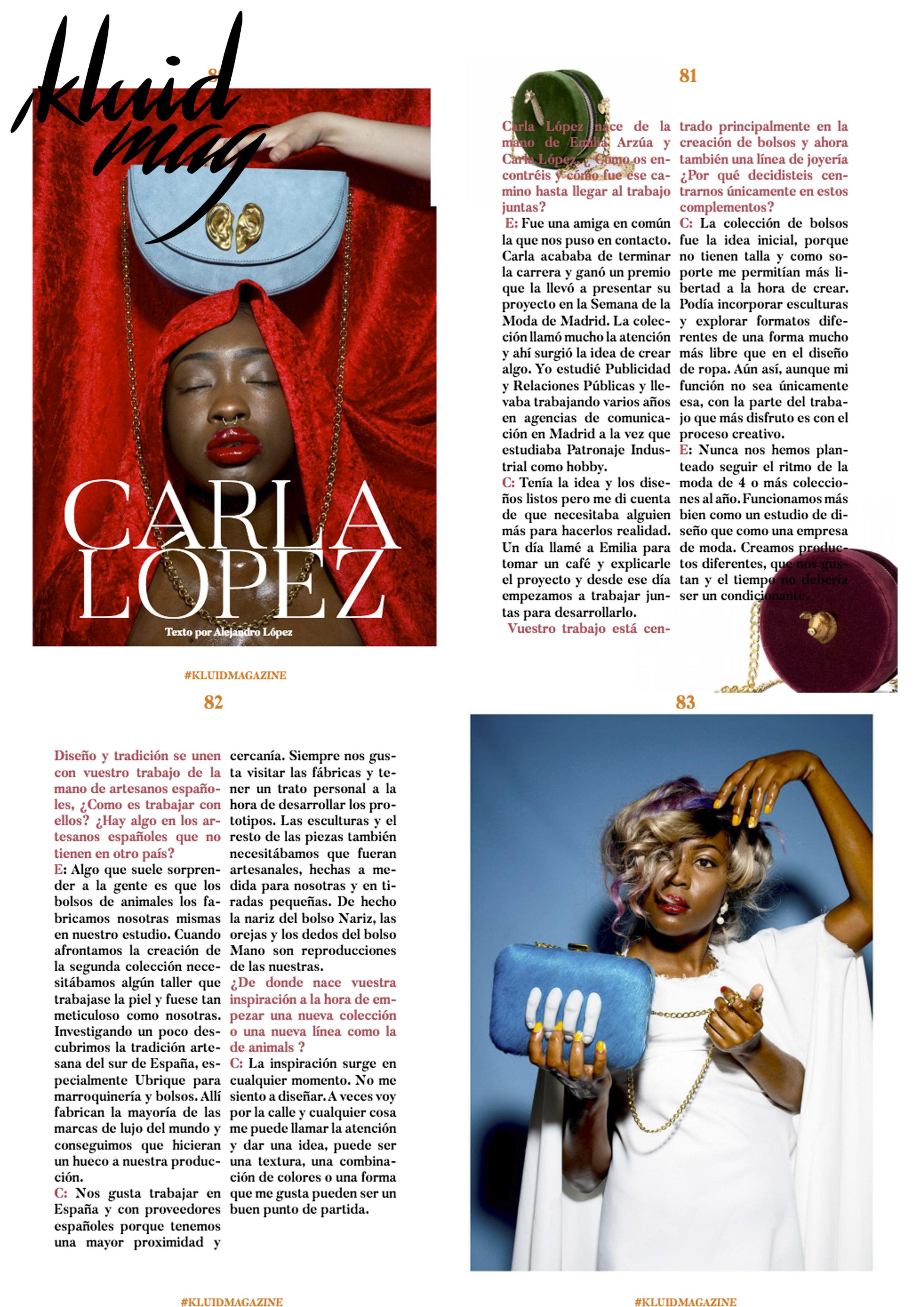 Kluid Magazine - carlalopez