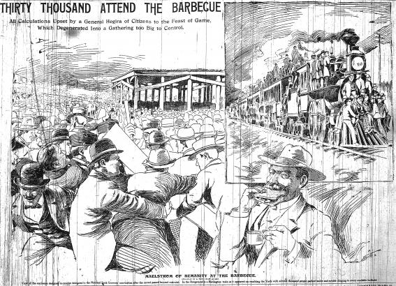 """A """"Maelstrom of Humanity"""": Denver's Barbecue Riot, 1898"""