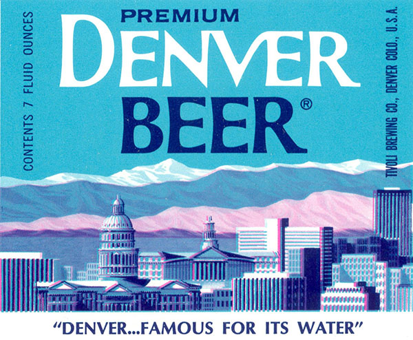 1960s Bottle Labels from Denver's Tivoli Brewing Company