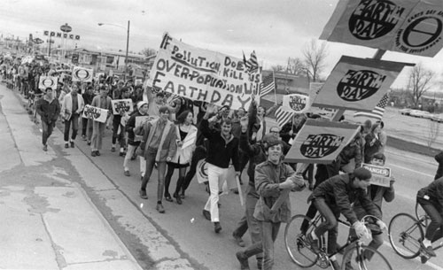 Denver's First Earth Day, 1970
