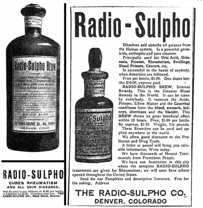 A PRODUCT OF ITS TIME: RADIO-SULPHO