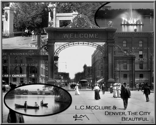 Welcome to Denver: Collage of sevral M.C. McClure Photographs