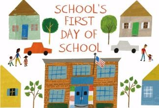 cover art for the book School's First Day of School