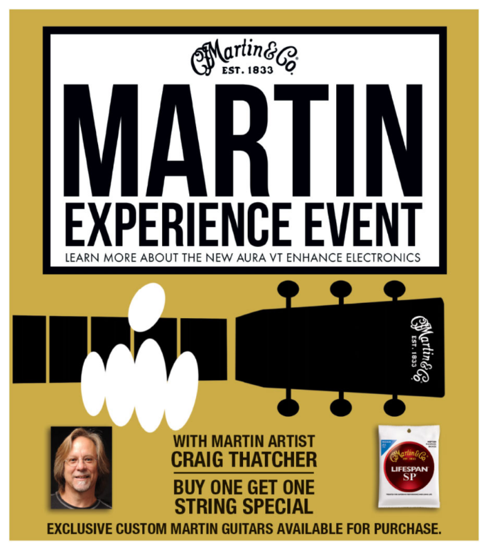 The Martin Experience Event Poster