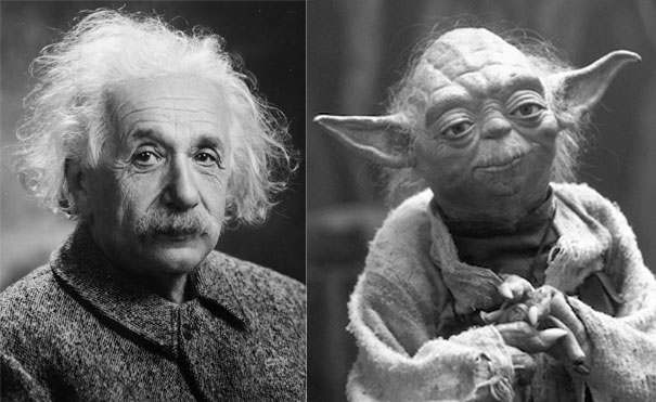 Einstein and Yoda