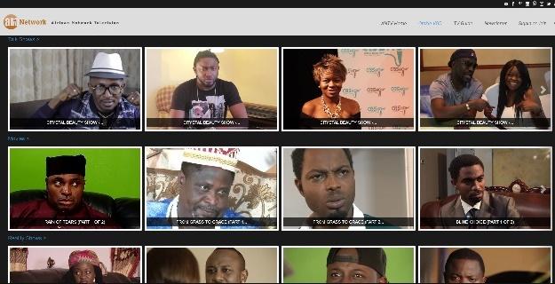 Galeria de vídeos VOD (on demand) Webtv como criar sua tv na internet solução de IPTV
