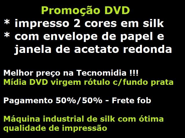 Promo DVD silk com gravação