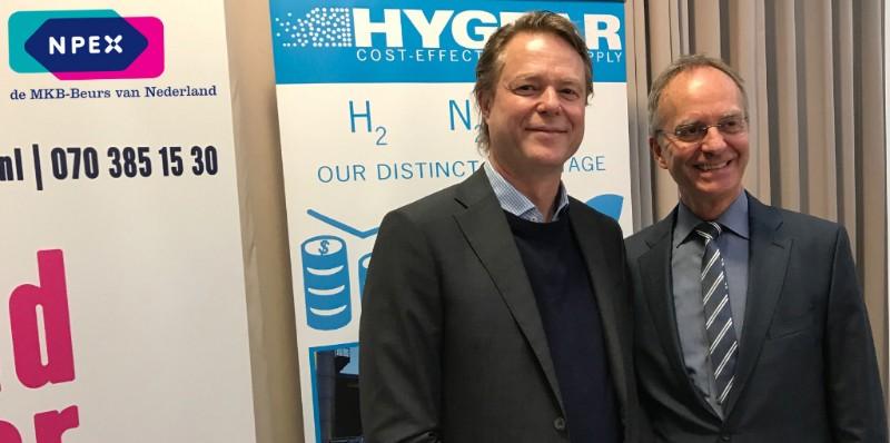 Marinus van Driel en minister Henk Kamp