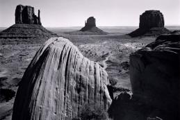 Ansel Adams' famous image of Monument Valley