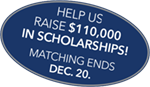 Help us raise $110k in Scholarships