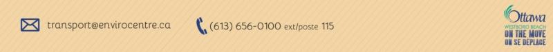 transport@envirocentre.ca, 613 656-0100 ext/poste 115