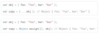 SmallData   Blog   Copying objects in Javascript