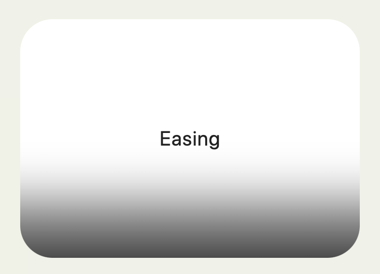 Using easing for more than just CSS transitions