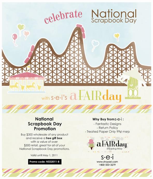 SEI National Scrapbook Day Offer!