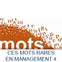 Ces mots rares en Management 4