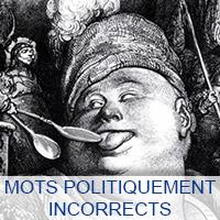 Mots politiquement incorrect