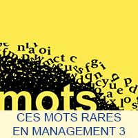 Ces mots rares en Management 3