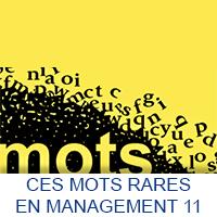Ces mots rares en Management 11
