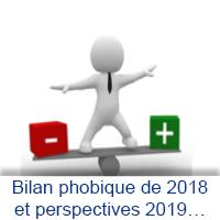 Bilan phobique de 2018 et perspectives 2019…