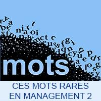 Ces mots rares en Management 2