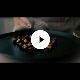 Toasting Hazelnuts