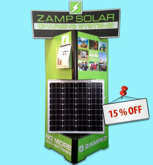 Zamp Solar 15% off