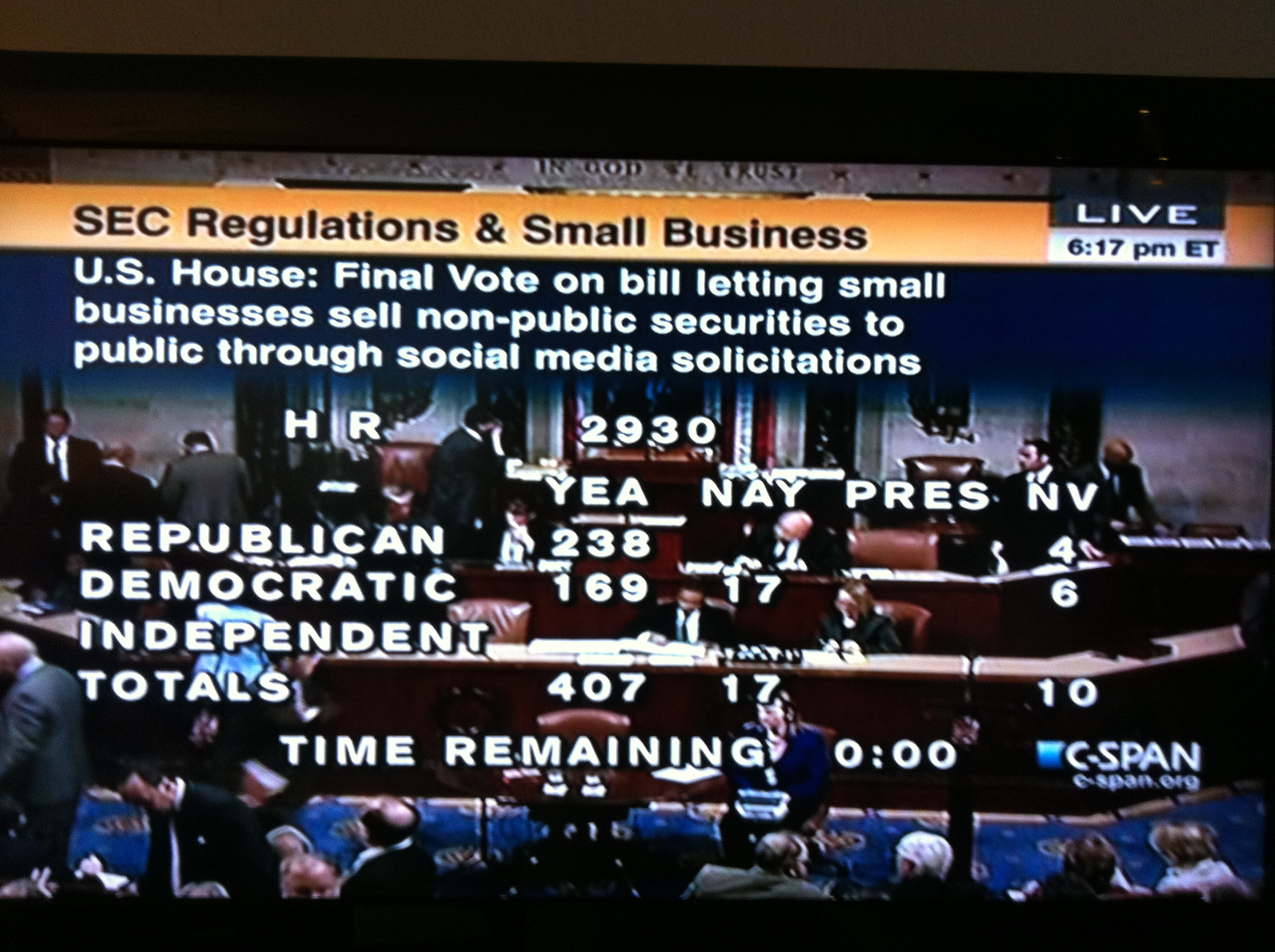 HR2930 Vote - 407 to 17