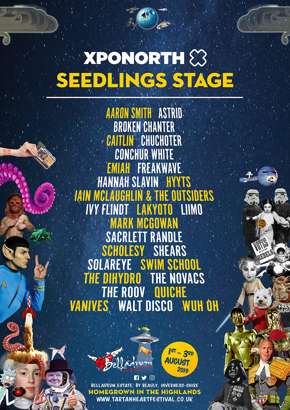 XPONORTH SEEDLINGS STAGE LINE-UP ANNOUNCED FOR BELLADRUM