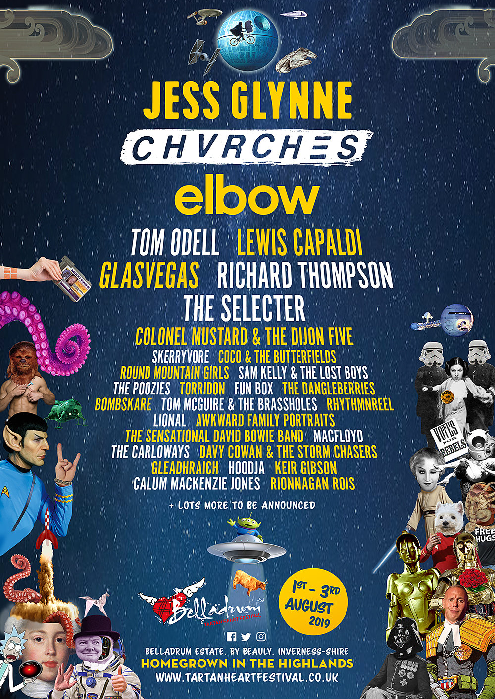 JESS GLYNNE & CHVRCHES ANNOUNCED AS FINAL HEADLINERS FOR BELLADRUM