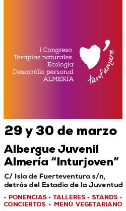 I Congreso de Terapias naturales, Ecología y Desarrollo personal en Almería