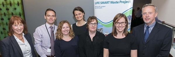 SEPA's LIFE SMART Waste project team