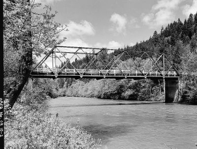 In 1956 the Richardson Bridge was placed over the Siuslaw River on Richardon Road