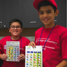 Middle school-age children participate in several weeklong camps that engage them with STEM activities.