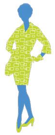 Woman in Green Dress