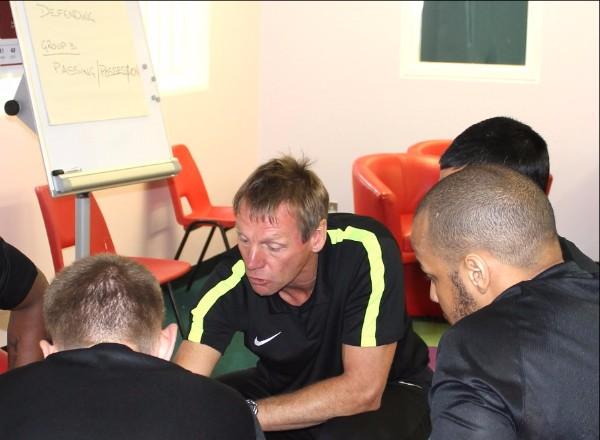 Stuart Pearce LMA prison football session