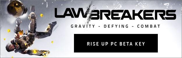 LawBreakers Rise Up PC Beta Weekend Key Giveaway