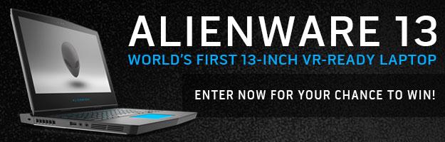 Alienware 13 Scavenger Hunt