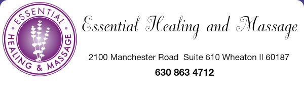essential healing and massage website