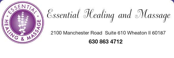 essential healing and massage website