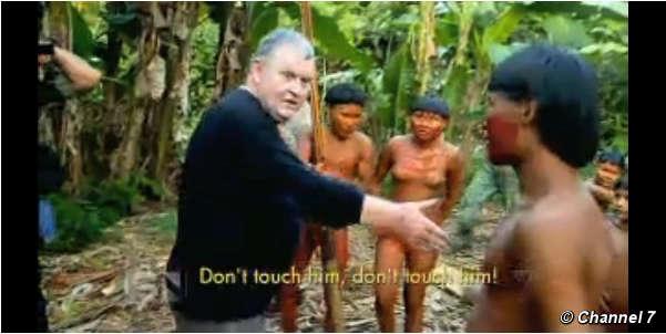 Chocante 'Show de Horrores na TV' – repórter descreve tribo brasileira como assassinos de crianças