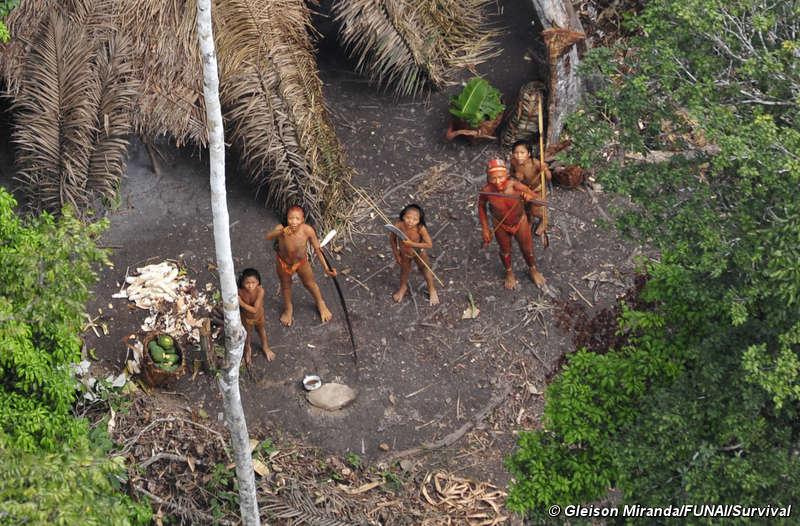 'Tribos vistas do Ar' para o Dia Internacional dos Povos Indígenas